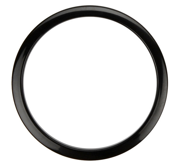 Bass Drum Os Port Reinforcement Hoop, 5-inch, Black