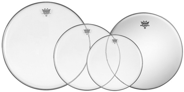 Remo Ambassador Clear US Fusion Drum Head Pack with 14 inch Ambassador