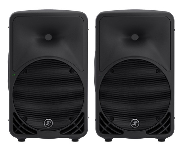 Mackie SRM350v3 10 inch Active PA Speakers (pair)