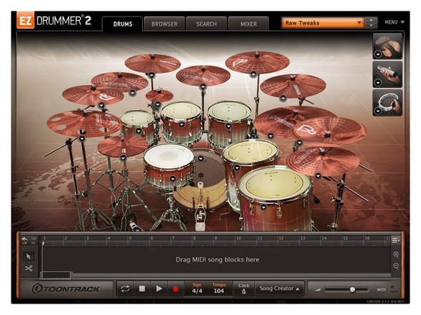 Toontrack EZX Progressive Expansion for EZ Drummer 2 (Serial Download)