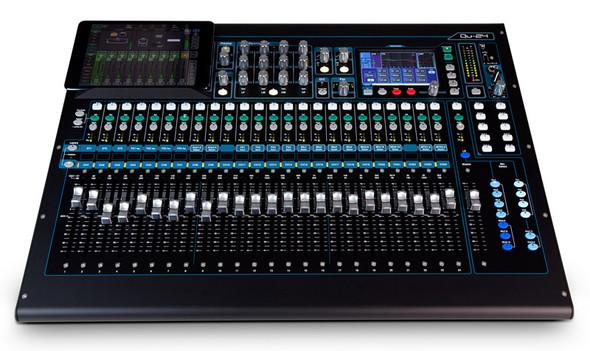 Allen & Heath Qu-24 Digital Mixer, Chrome Edition