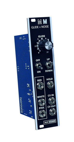 AJH Synth MiniMod Glide, Hold & Noise Eurorack  Module, Dark Edition