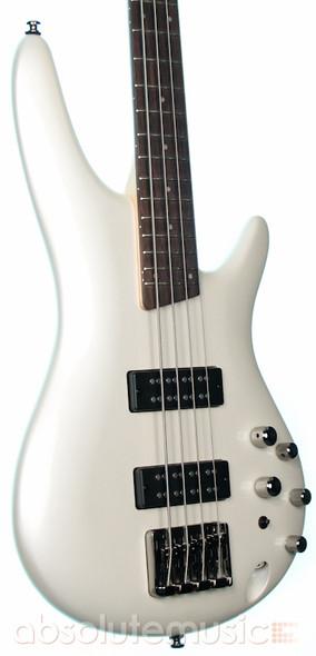 Ibanez SR300E-PW Bass Guitar, Powder White