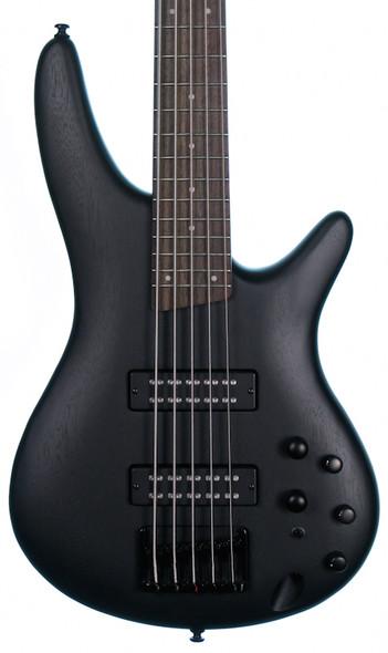 Ibanez SR305EB-WK 5 String Bass Guitar, Weathered Black