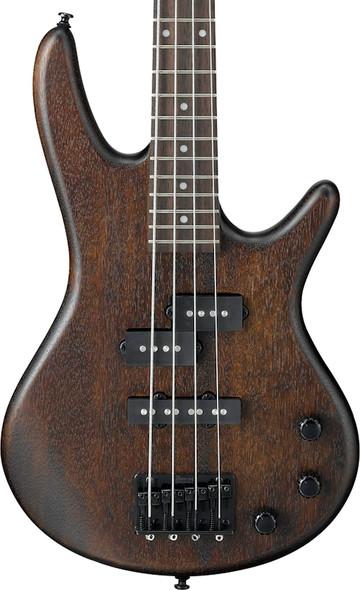 Ibanez GSRM20B-WNF GIO miKro Bass Guitar, Walnut Flat