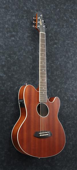 Ibanez TCY12E-OPN Talman Series Electro Acoustic Guitar, Open Pore Natural