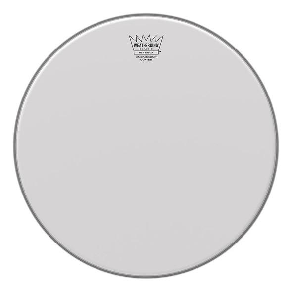 Remo BA-0112-PR Ambassador Classic Fit 12 Inch Coated Drum Head