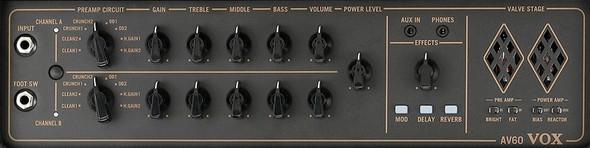 Vox AV60 Analogue Valve Combo Amp