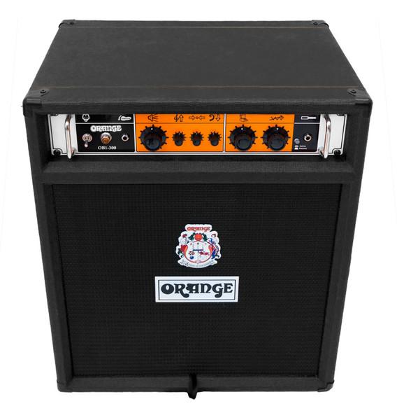 Orange OB1-300 1 x 15 Bass Amp Combo, Black