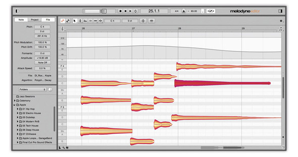 Celemony Melodyne 4 Editor, Upgrade from Melodyne Assistant, Serial Download