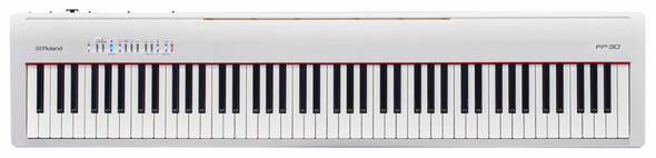 Roland FP-30 Digital Piano, White