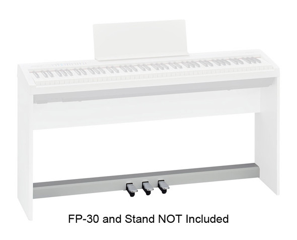 Roland KPD-70 Three Pedal Unit for FP-30 Piano, White