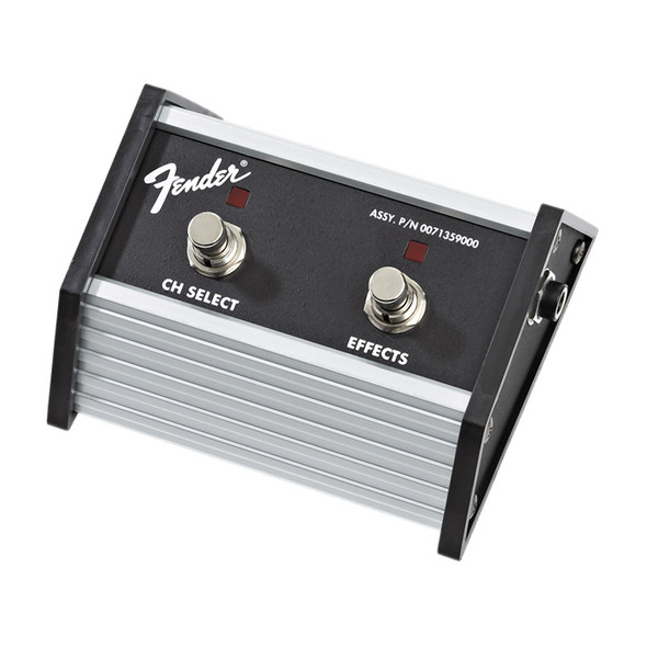 Fender 2-Button Footswitch Channel Select / Effects On/Off