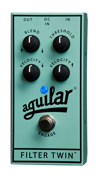 Aguilar Filter Twin Dual Envelope Filter Effects Pedal