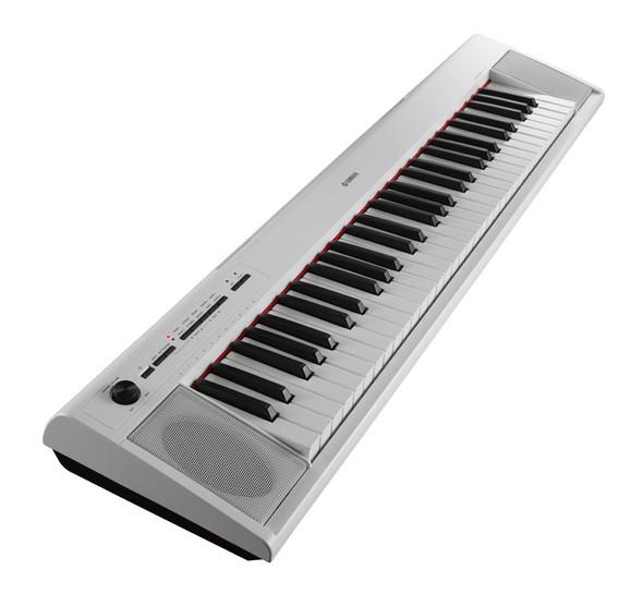 Yamaha NP-12 Piaggero 61 Note Digital Piano, White
