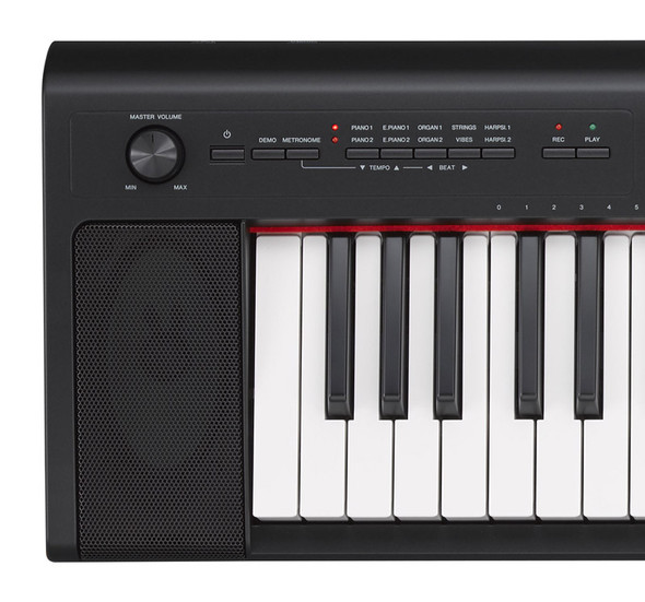 Yamaha NP-32 Piaggero 76 Note Digital Piano, Black