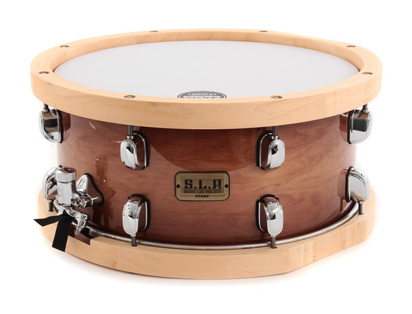 Tama SLP 14 x 6.5 Studio Maple Snare Drum with Wooden Hoops