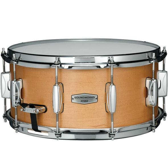 Tama Soundworks 14 x 6.5 Maple Snare Drum in Matt Vintage Maple