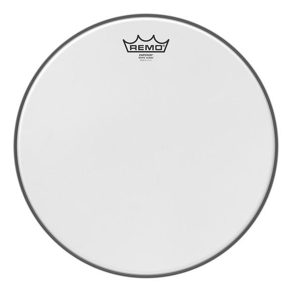 Remo BE-0812-WS Emperor White Suede 12 Inch Drum Head