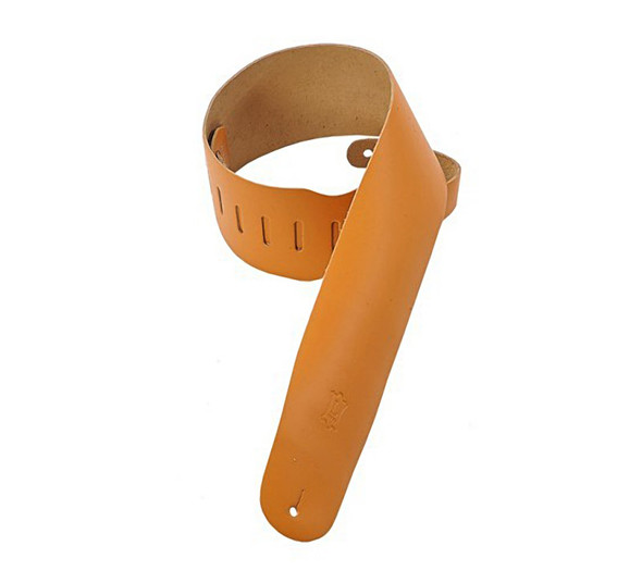 Levys M4-TAN 3.5 inch Leather Bass Strap, Tan