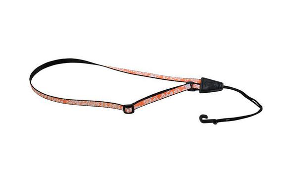 Levys MP22-003 0.5-inch Polyester Ukulele Strap, Hawaiian Orange