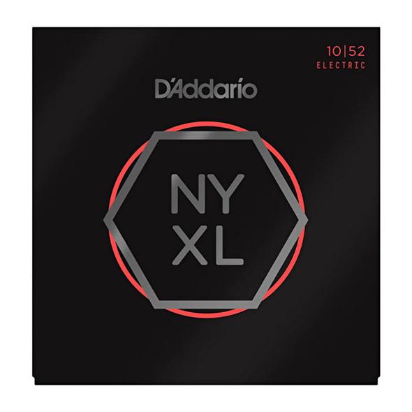 D Addario NYXL1052 Nickel Wound Electric Guitar Strings, Light Top/Heavy Bottom