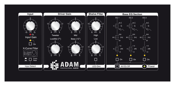ADAM S7A Mk2 Active Mainfield Studio Monitor (Single)
