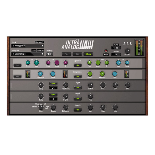 Applied Acoustics Systems Ultra Analog VA-2 (Serial Download)