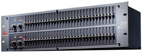 DBX 2231 Dual 31 band graphic equalizer limiter with Type III