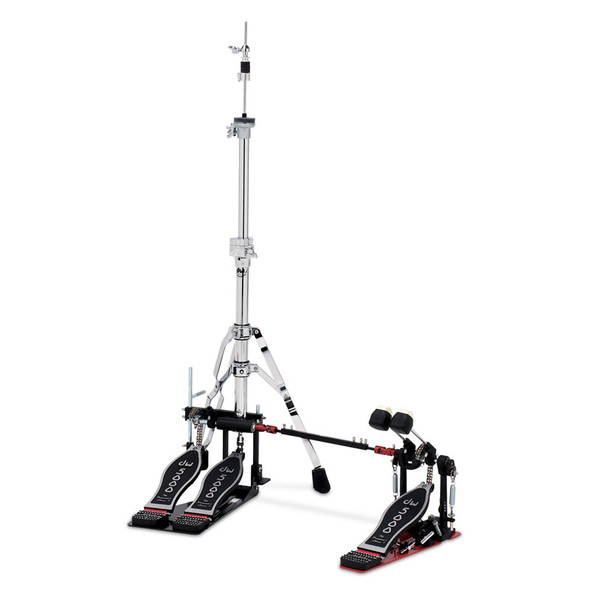 DW 5000 Series 5520-2 Hi Hat/Double Bass Drum Pedal Combo