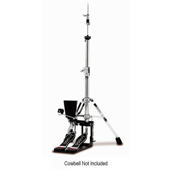 DW 5000 Series 5520 Hi Hat/Cowbell Combo Stand