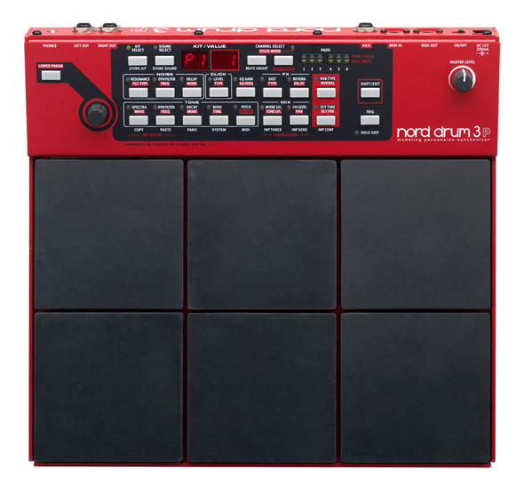 Nord Drum 3P 6 Channel Percussion Pad Synthesizer