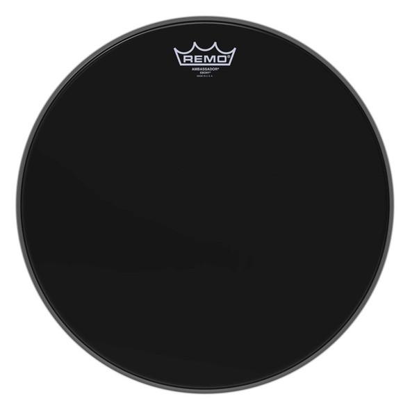 Remo ES-0015-00 15 inch Ebony Ambassador Drum Head