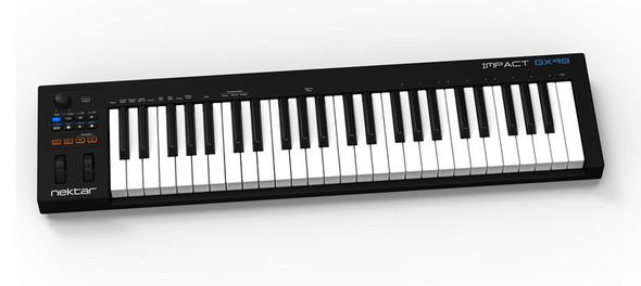 Nektar Impact GX49 USB MIDI Controller Keyboard