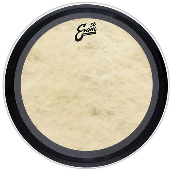Evans TT16EMADCT 16 Inch Calftone EMAD Bass Drum Tom Head