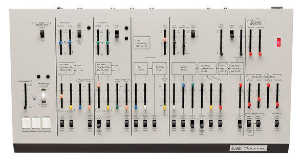 Korg ARP Odyssey Duophonic Synth Module, Rev 1, White Livery