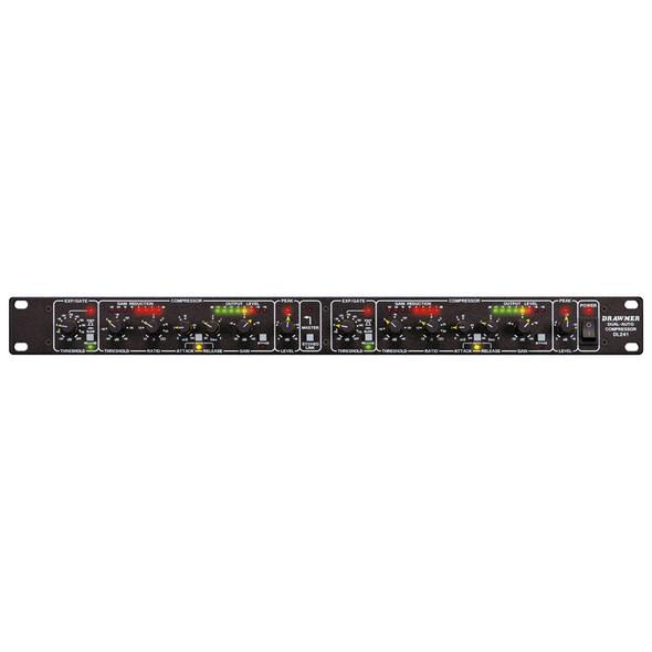 Drawmer DL241 Dual Auto Compressor / Limiter (XLR)