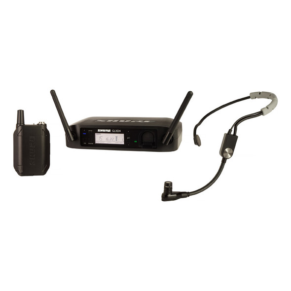 Shure GLXD14UK/SM35 Digital Wireless Headset SM35 Microphone System