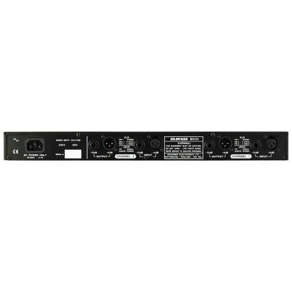 Drawmer MX30 Gated Compressor Limiter (XLR/Jack)