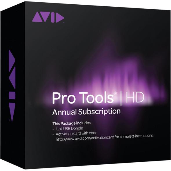 AVID Pro Tools HD - Annual Subscription