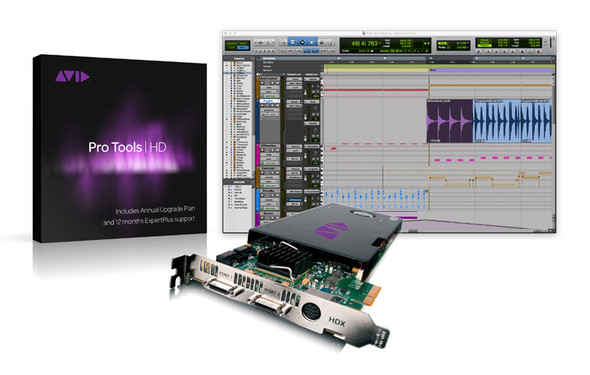 AVID Pro Tools HDX Core with Pro Tools | HD Software