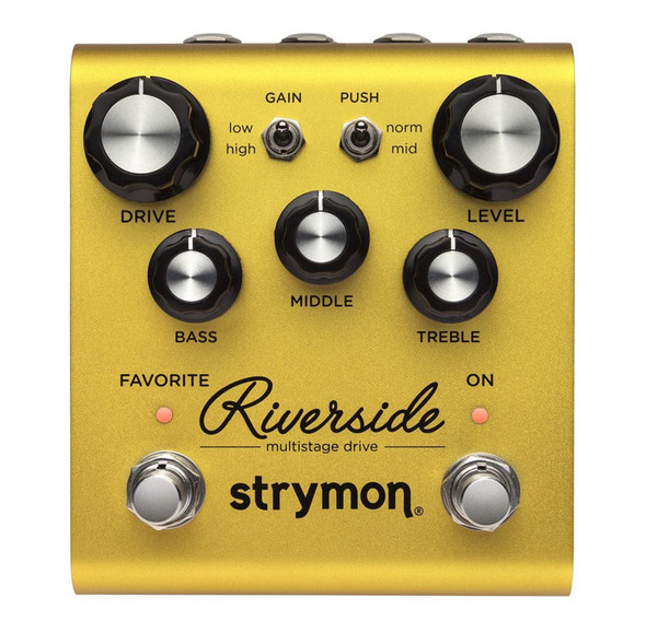 Strymon Riverside Drive Guitar Effects Pedal