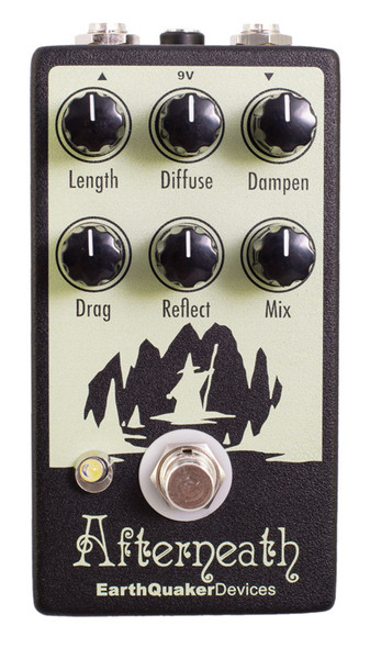 EarthQuaker Devices Afterneath V2 Reverb Effect Pedal