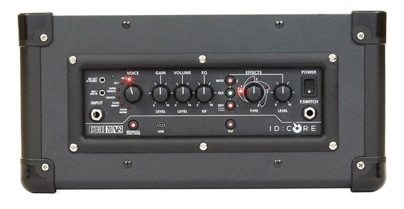 Blackstar ID CORE Stereo 20 V2 Guitar Combo Amplifier, Black