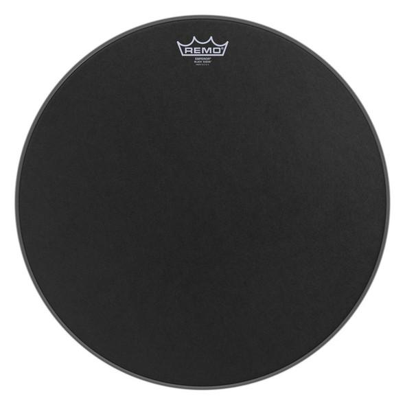 Remo BE-0814-ES Emperor Black Suede 14-inch Drum Head