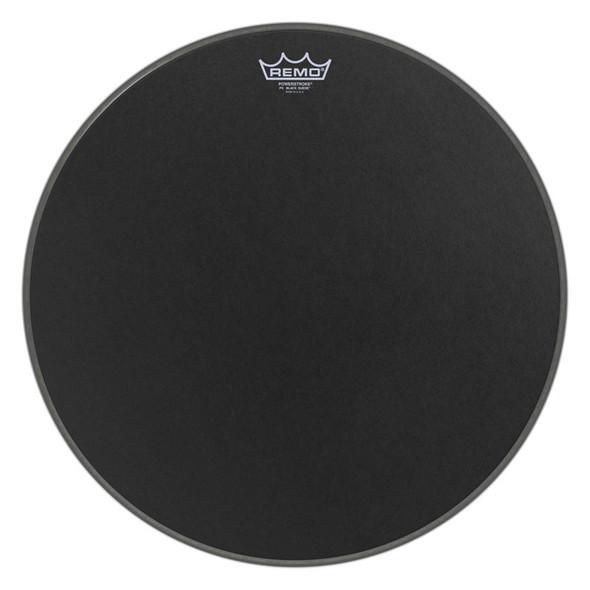 Remo P3-1820-ES Powerstroke P3 Black Suede 20-inch Bass Drum Head