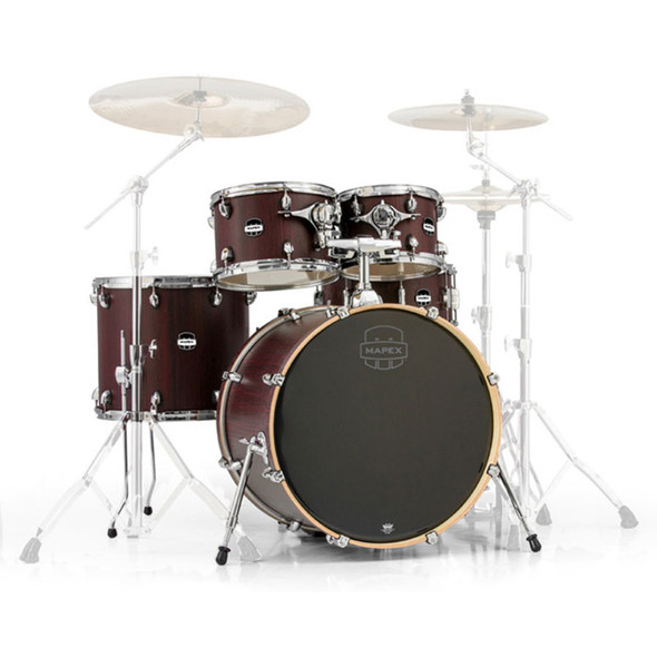 Mapex Mars 5-Piece Rock Shell Pack In Bloodwood