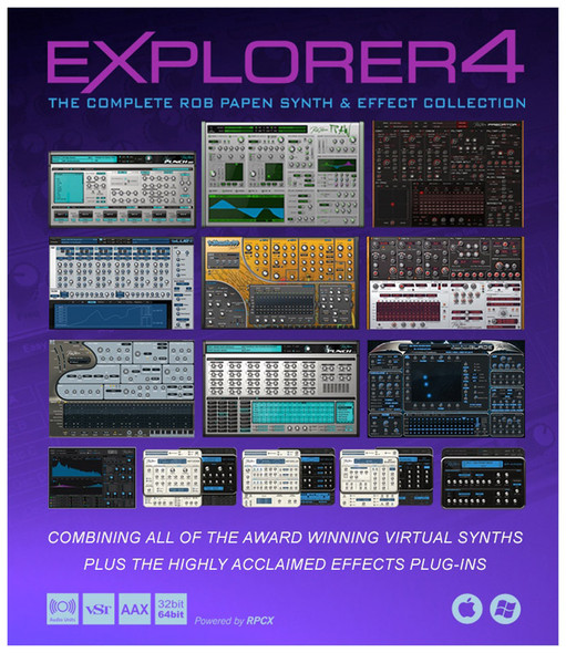 Rob Papen eXplorer 4 Crossgrade from 1 Product (Serial Download)