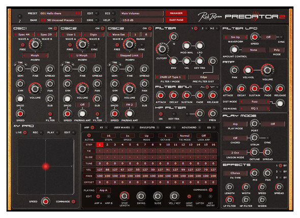Rob Papen Predator 2 Virtual Synthesizer (Serial Download)