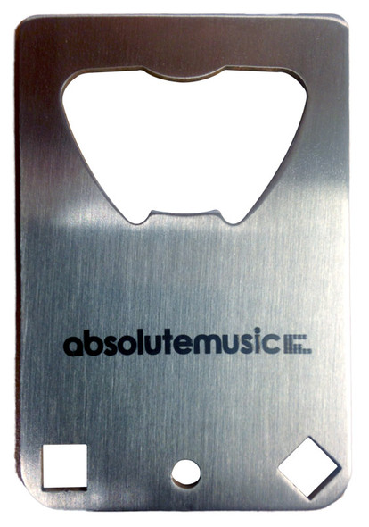 VK Drums Absolute Music Bottle Opener/Drum Key